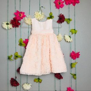 American Princess Pink Floral Dress Size 4/4T